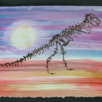 T-Rex Sunset_Desiree_Alvarez